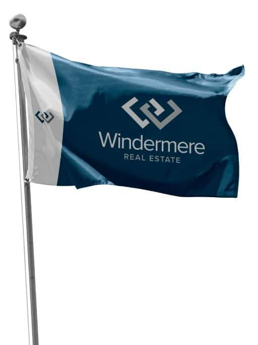Windermee Real Estate Logo Flag