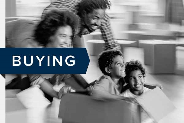 Buying a home. Click to go to buying page.